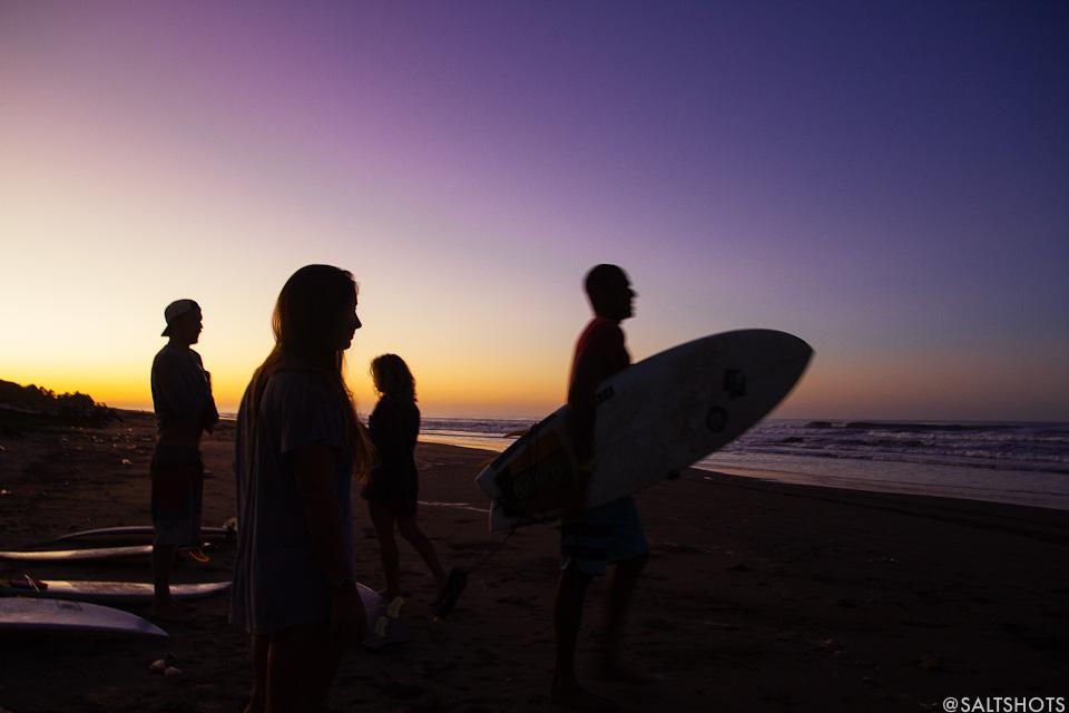 sunrise surf photography nicaragua surf photograhy