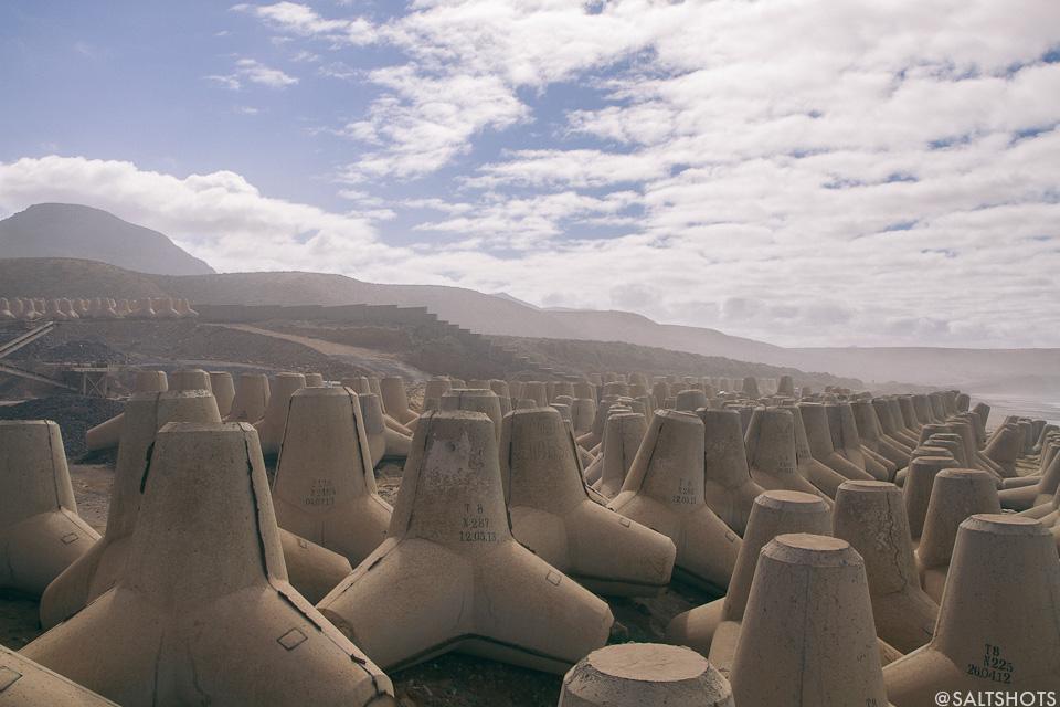 tetrapods morocco