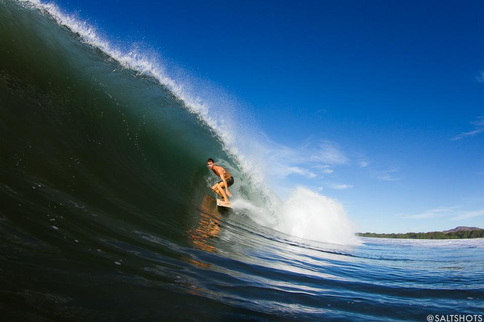 nicaragua surf photograhy hugh stolarz barrel