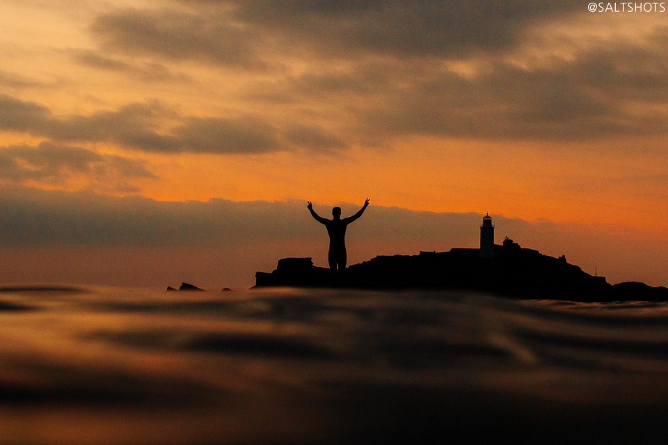 gwithian sup and surf photography - cornwall