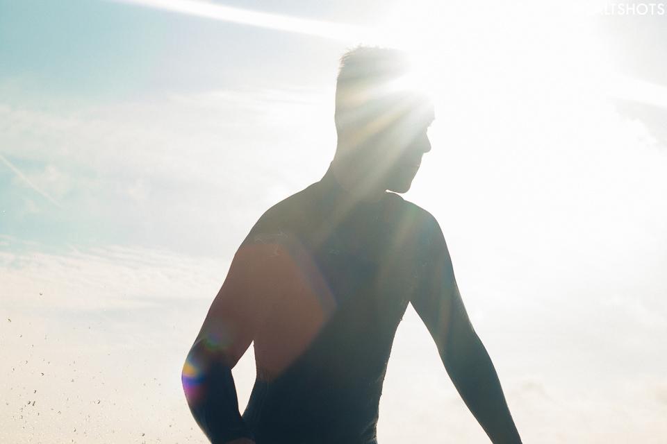 sun flare surfing
