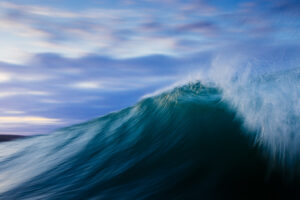 Slow shutter wave print cornwall