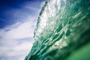 Offshore Wave Print Porthtowan